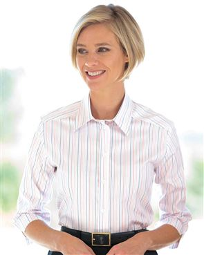 Advertisement Pure Cotton Striped Blouse