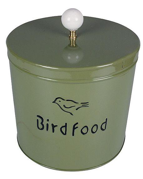 Bird food tin for Bird feed tin