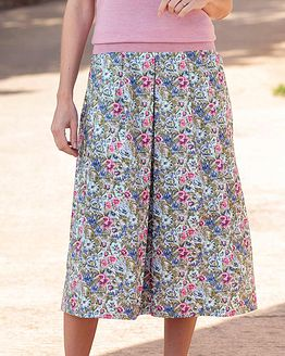Jayne Floral Pure Cotton Skirt