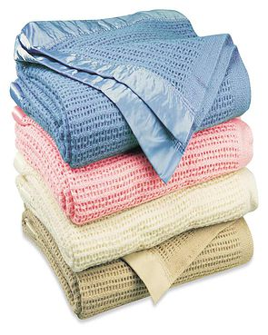 Cellular Pure Wool Blankets