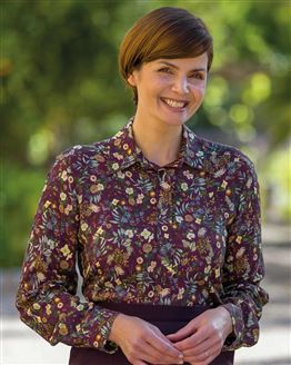 Kate Floral Supersoft Viscose Blouse