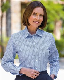 Gracie Pure Cotton Patterned Blouse