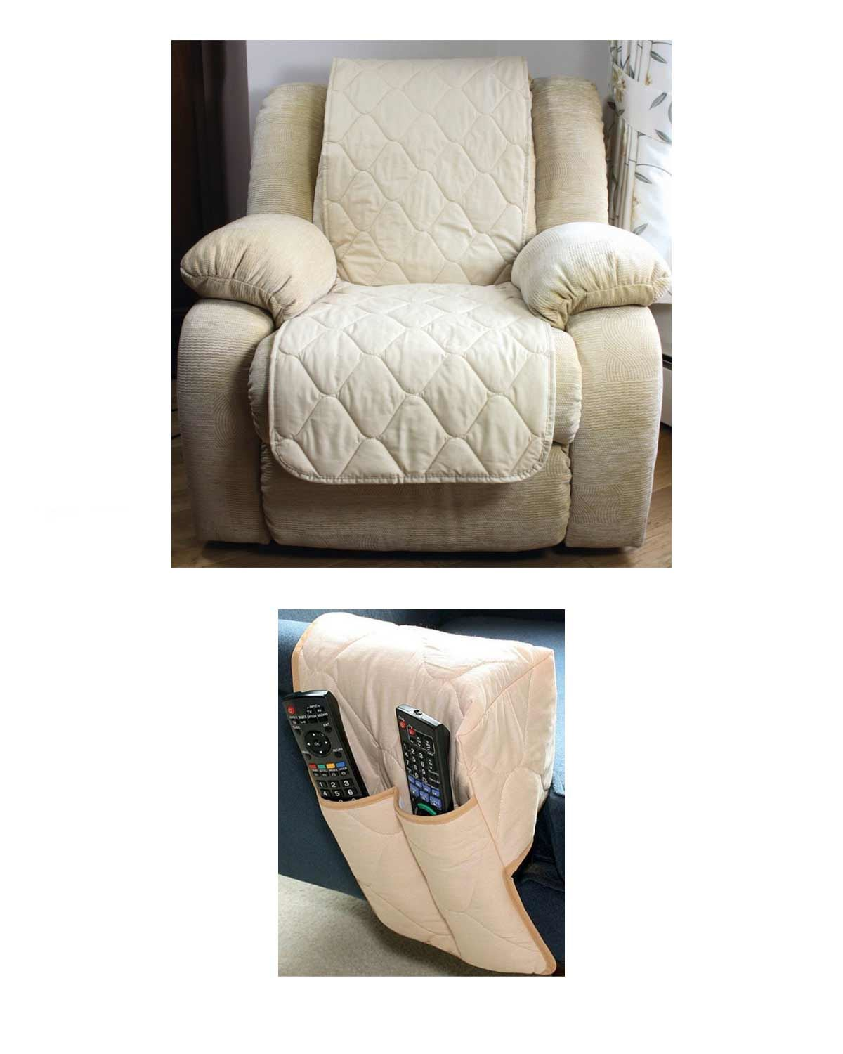 quilted armchair protectors