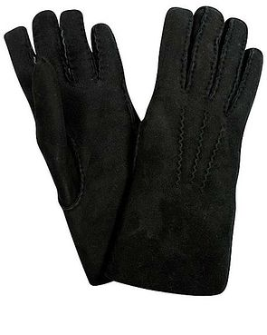 Lambskin Gloves - Black