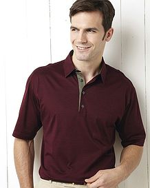 Smart Polo Shirts with Stand Collar