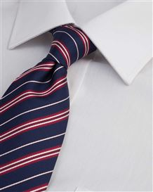 Easycare Plain Polycotton White Shirt