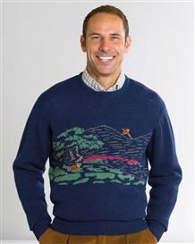 Fox and Pheasant Sweater