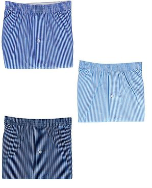 Pack Of 3 Assorted Boxer Shorts  Mens