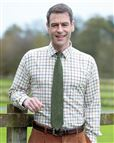 Newbury Tattersall Check Cotton & Wool Shirt