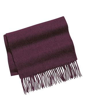 Aubergine Pure Lambswool Scarves