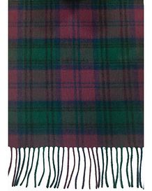Checked Pure Lambswool Scarve