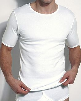 Cotton Round Neck Vest  Mens