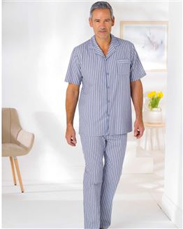 Cotton Striped Pyjamas