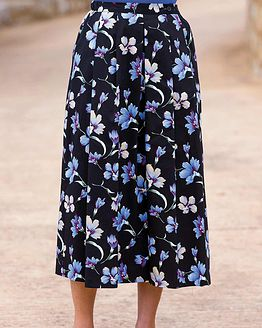Callie Cotton Mix Skirt