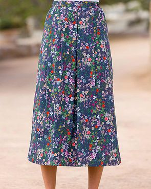 Maggie Floral Pure Cotton Skirt