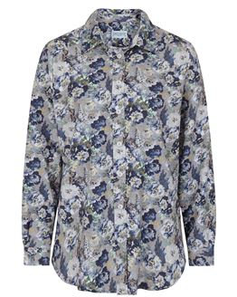 Margaret Cotton Mix Floral Blouse
