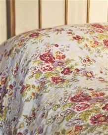 English Floral Bedspread