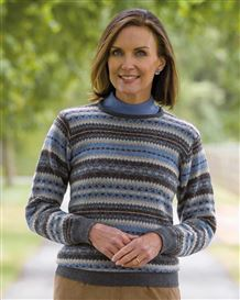 Thea Fairisle Sweater