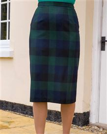 Iona Wool Rich Straight Skirt