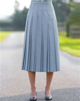 Sandown Pleated Skirt