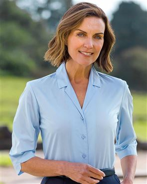 Easy Care 3/4 Sleeved Blouse
