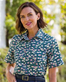Alanis Floral Supersoft Viscose Blouse