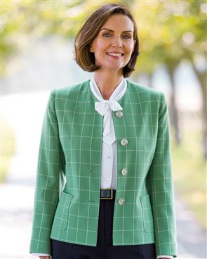 Cadiz Checked Jacket
