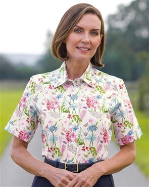 Cassidy Floral Pure Cotton Blouse
