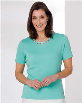 TIGI Sea Loop Neck Top