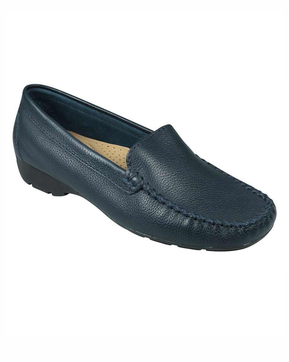 c33b93aeef Van Dal ladies leather loafer. Sizes 36-41. Pewter