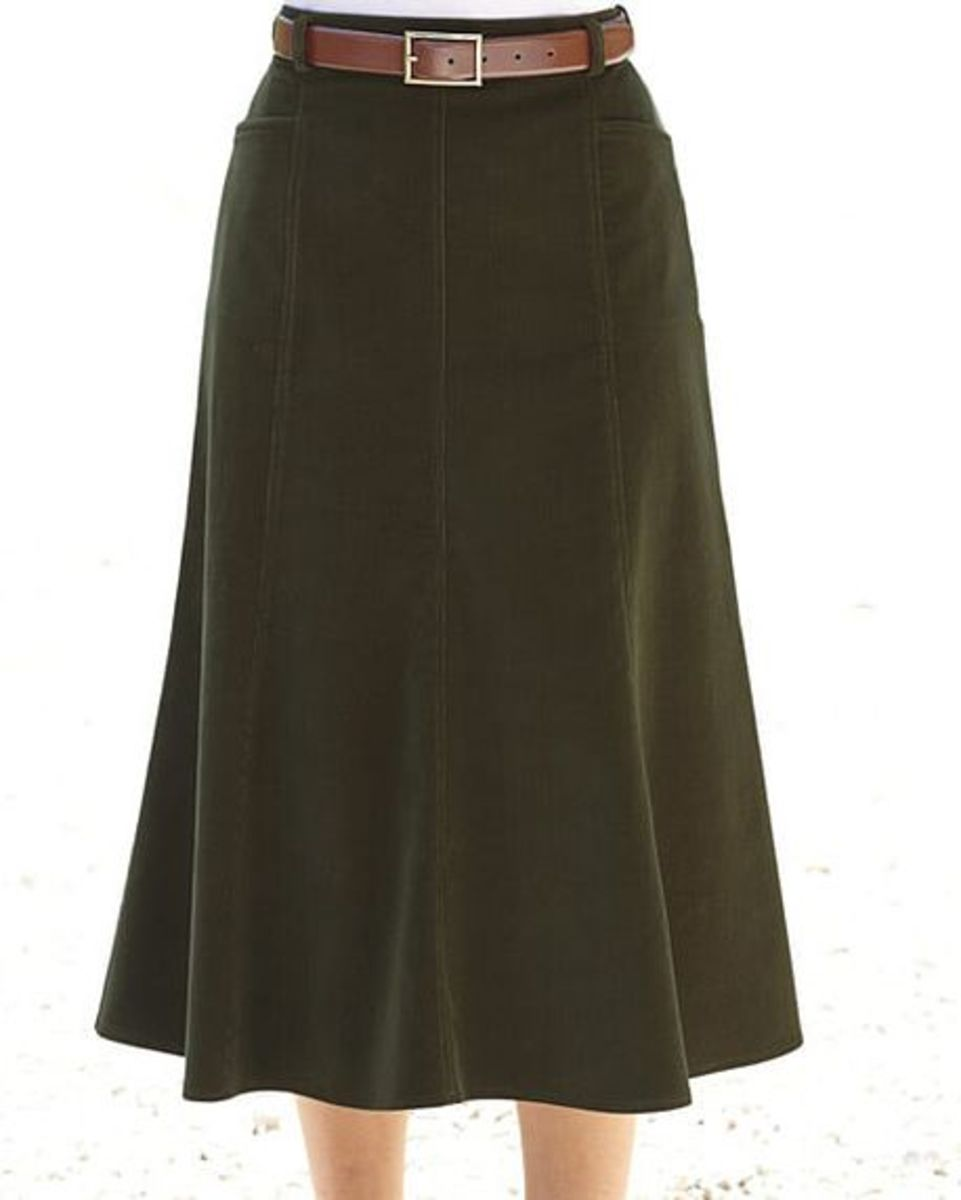 9d9acf4d5 Needlecord Skirt Available in 3 Colours