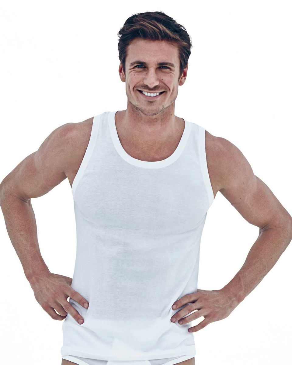 eea3405d88bd9c Mens 3 Pack of Jockey Vests. Sizes S - XL. Machine washable.
