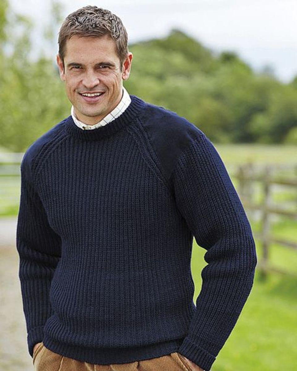 6bf4c42ba Fisherman s Rib Sweater chunky knit