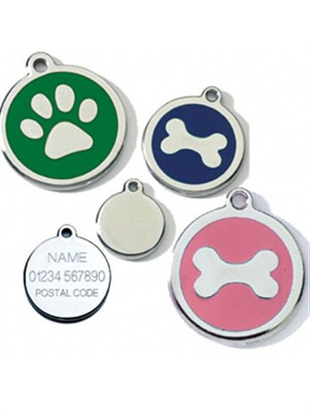 High Grade Stainless Steel Personalised Dog Tags