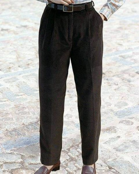 Corduroy Trousers - Ladies