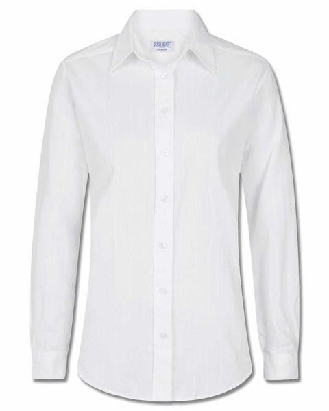 Audrey White Blouse