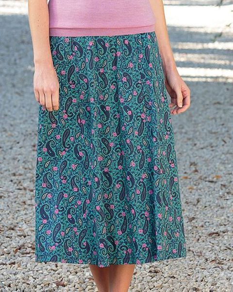 Lana Multi Coloured Pure Cotton Skirt