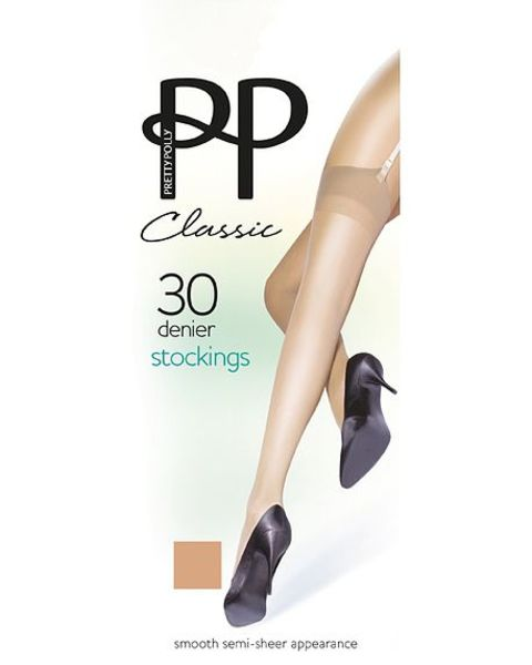 Pretty Polly 30 Denier Traditional Range Stockings