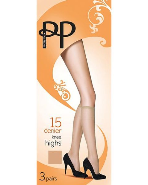 Pretty Polly 15 Denier Everyday Knee Highs