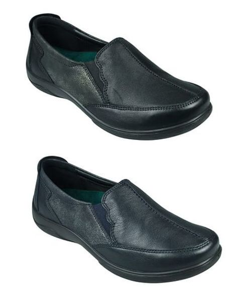 Padders Leather Flute Shoe