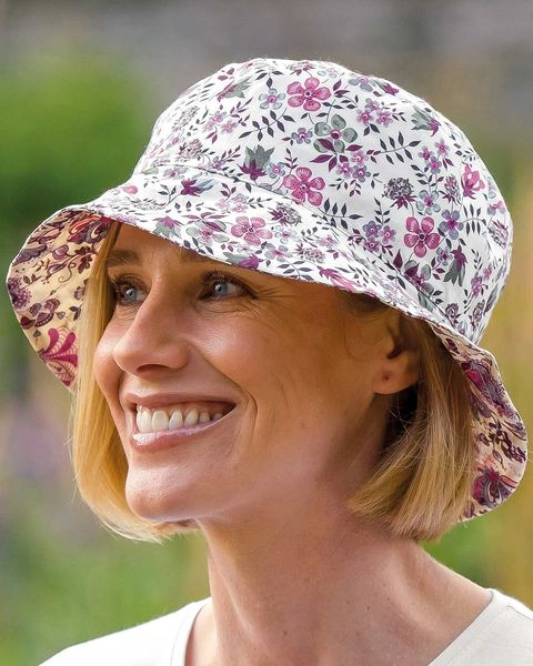 Liberty Print Floral Reversible Hat