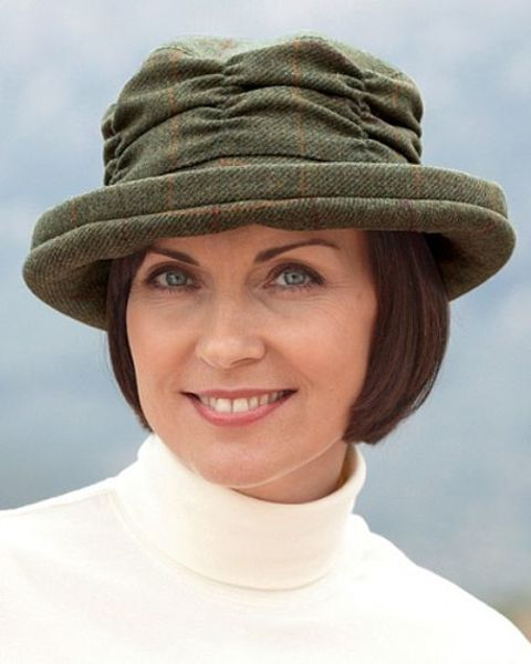 Tweed Cloche Hat
