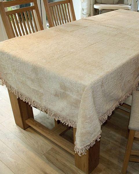 Chenille Tablecloth