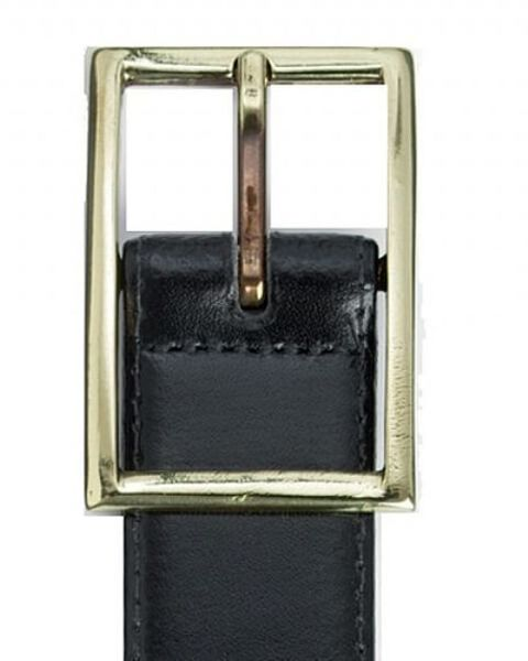 Leather Belt Navy