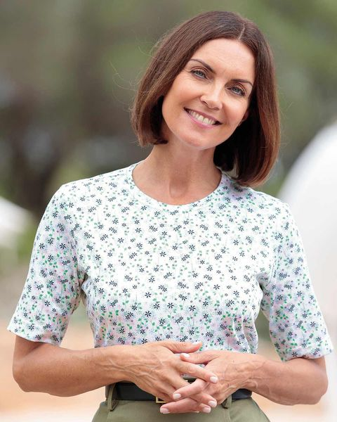 Clara Floral Pure Cotton Leisure Top