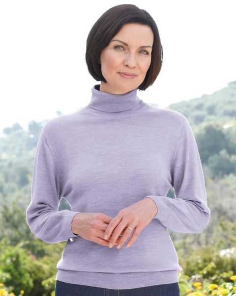 Merino Roll Neck Sweater