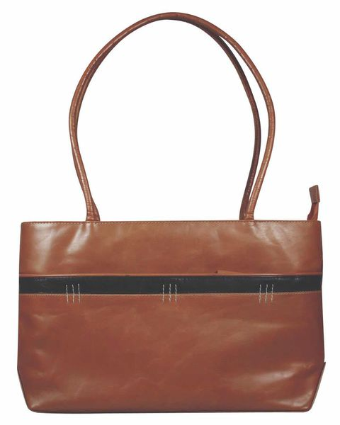 Leather Tan Tote Handbag