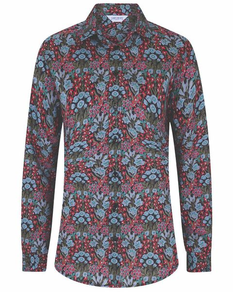 Carly Liberty Print Tana Lawn Blouse