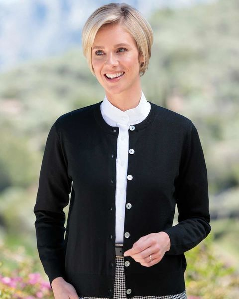 Merino Wool Short Cardigan
