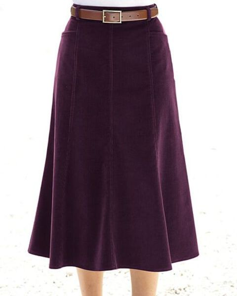 Needlecord Skirt